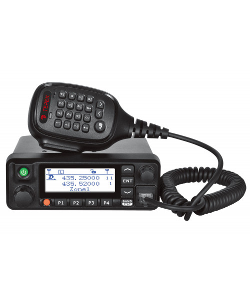 Радиостанция автомобильная Терек РМ-302 DMR (GPS)