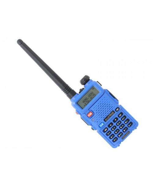 Рация Baofeng UV-5R синий портативная