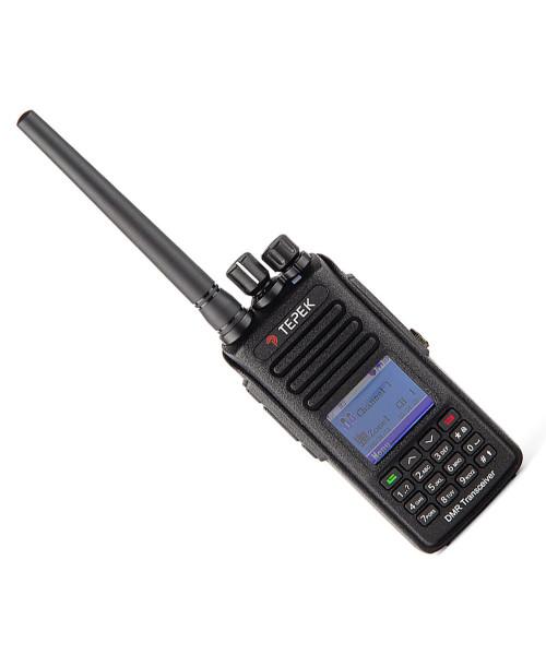 Рация Терек РК-322-DMR GPS (400-470 МГц) портативная цифровая DMR