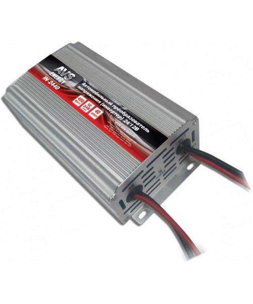 Инвертер автомобильный 24/12 V IN-2440 (40A)