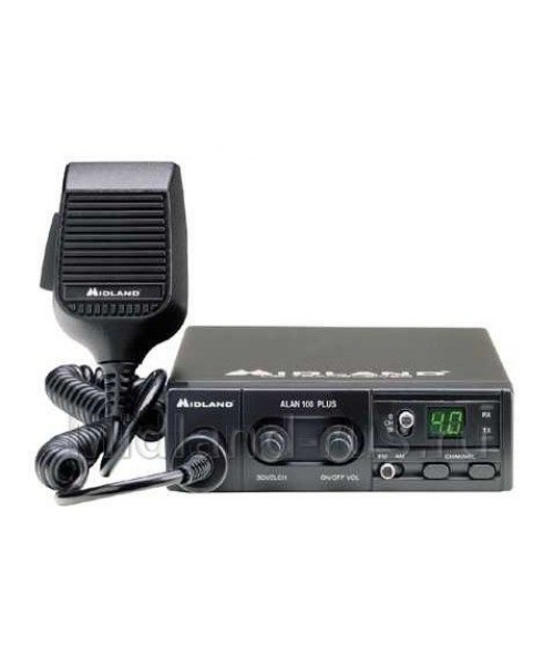 Радиостанция автомобильная ALAN 100 Plus