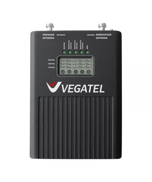 Усилитель сотовой связи GSM Vegatel VT3-1800/2100/2600 (LED)