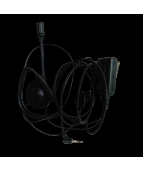 Гарнитура TA-2021 M2 (Motorola talk) Микрофон на штанге малая кнопка